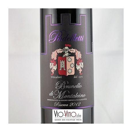 Padelletti - Brunello di Montalcino Riserva DOCG 2012