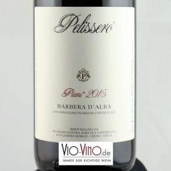 Pelissero - Barbera d'Alba PIANI DOC 2015