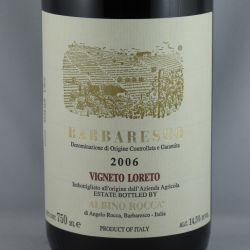 Albino Rocca - Barbaresco Vigneto Loreto Ovello 2006