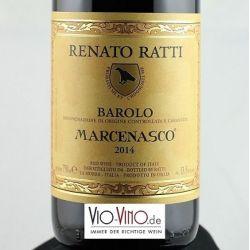 Renato Ratti - Barolo MARCENASCO DOCG 2014