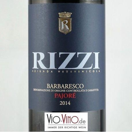Rizzi - Barbaresco PAJORE DOCG 2014