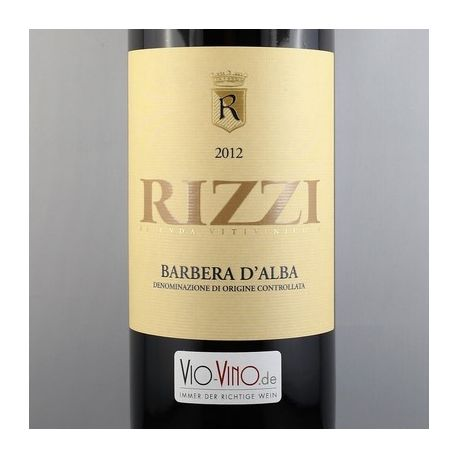 Rizzi - Barbera d'Alba DOC 2012