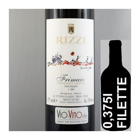 Rizzi - FRIMAIO Vendemmia Tardiva Vino Passito 2009 Filette
