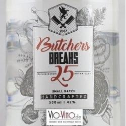 BREAK - Premium Dry Gin BUTCHER 2018 Pot - 0,5l