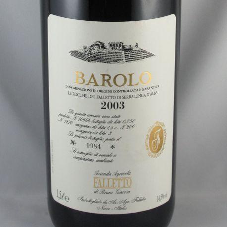 Bruno Giacosa Falletto - Barolo Le Rocche del Falletto 2003 - Magnum