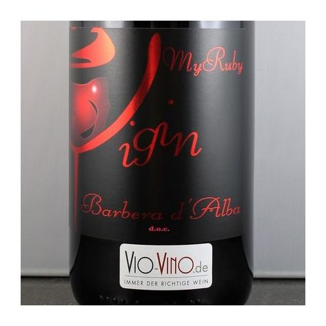 Vigin - Barbera d'Alba MY RUBY DOC 2014