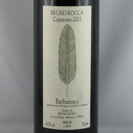 Bruno Rocca - Barbaresco COPAROSSA DOCG 2003