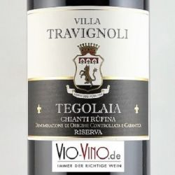 Villa Travignoli - Chianti Rufina Riserva TEGOLAIA DOCG 2015