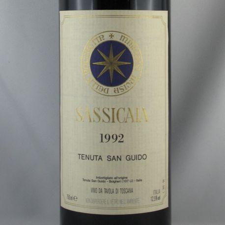 Tenuta San Guido - Sassicaia Bolgheri VdT 1992