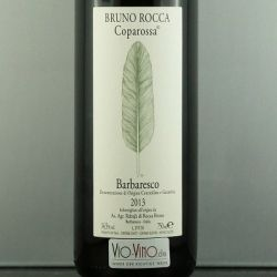 Bruno Rocca - Barbaresco COPAROSSA DOCG 2013