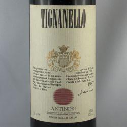 Marchsesi Antinori - Tignanello IGT 1987