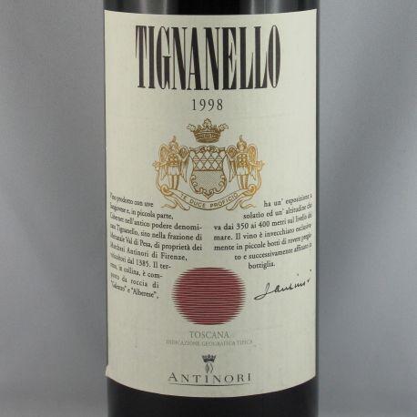 Marchsesi Antinori - Tignanello IGT 1998