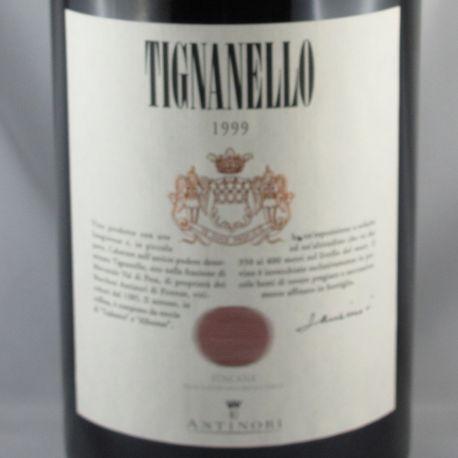 Marchsesi Antinori - Tignanello IGT 1999 Double Magnum