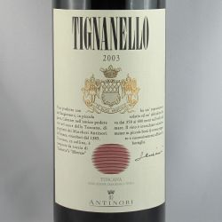 Marchsesi Antinori - Tignanello IGT 2003