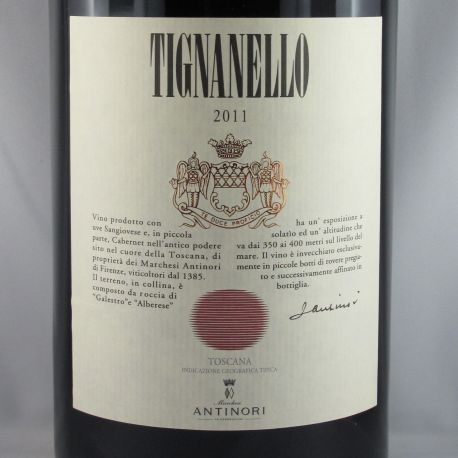 Marchsesi Antinori - Tignanello IGT 2011 Double Magnum