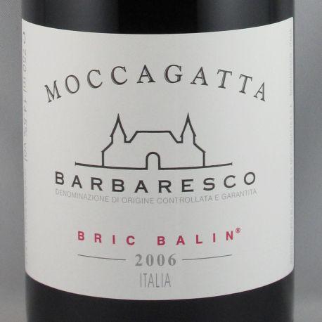 Moccagatta - Barbaresco BRIC BALIN DOCG 2006