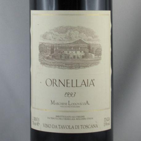 Ornellaia - Ornellaia Bolgheri Rosso Superiore IGT 1993