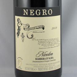 Angelo Negro - Barbera d'Alba NICOLON DOC 2009