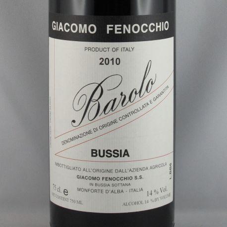 Giacomo Fenocchio - Barolo Bussia DOCG 2010