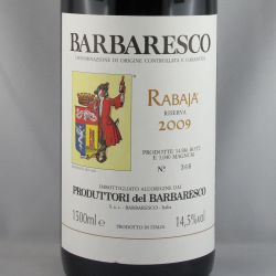 Produttori del Barbaresco - Barbaresco Riserva RABAJA DOCG 2009 Magnum
