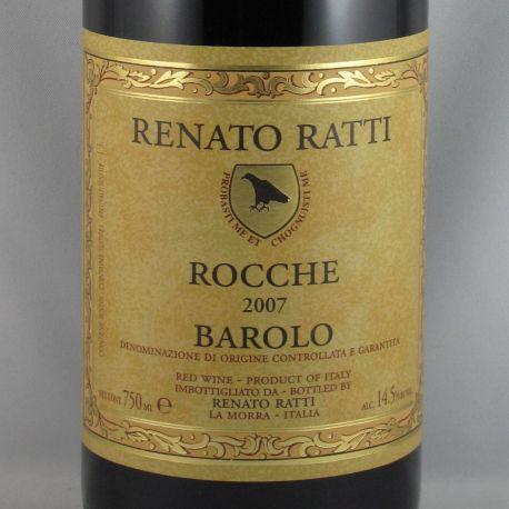 Renato Ratti - Barolo ROCCHE DOCG 2007