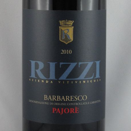 Rizzi - Barbaresco Rizzi PAJORE DOCG 2010
