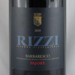 Rizzi - Barbaresco Rizzi PAJORE DOCG 2010 Magnum