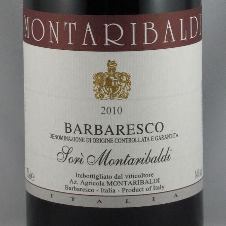 Montaribaldi - Barbaresco SORI MONTARIBALDI DOCG 2010