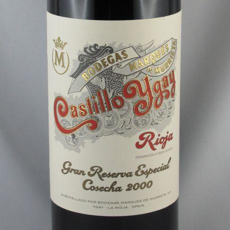 Marques de Murrieta - Castillo Ygay Gran Reserva Especial 2000