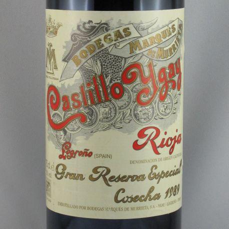 Marques de Murrieta - Castillo Ygay Gran Reserva Especial 1989