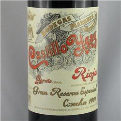 Marques de Murrieta - Castillo Ygay Gran Reserva Especial 1991