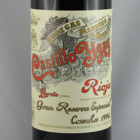 Marques de Murrieta - Castillo Ygay Gran Reserva Especial 1994