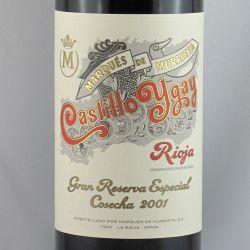 Marques de Murrieta - Castillo Ygay Gran Reserva Especial 2001