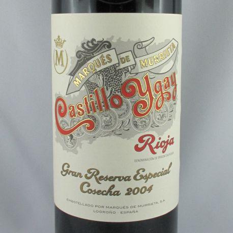 Marques de Murrieta - Castillo Ygay Gran Reserva Especial 2004
