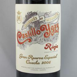 Marques de Murrieta - Castillo Ygay Gran Reserva Especial 2005
