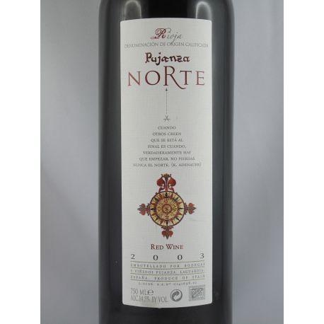 Bodegas y Vinedos Pujanza - Pujanza Norte 2003