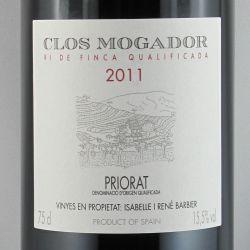 Clos Mogador/ Rene Barbier - Clos Mogador 2011