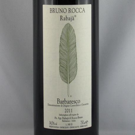 Bruno Rocca - Barbaresco RABAJA DOCG 2011