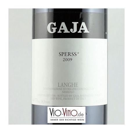 Angelo Gaja - Langhe Nebbiolo SPERSS DOC 2009