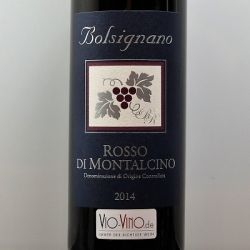 Bolsignano - Rosso di Montalcino DOC 2014