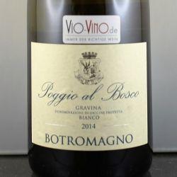 Botromagno - POGGIO AL BOSCO Gravina Bianco 2014