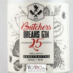 BREAK - Premium Dry Gin BUTCHER 2018 Pot - 0,5l