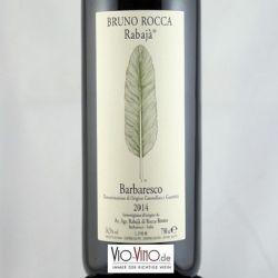 Bruno Rocca - Barbaresco RABAJA DOCG 2014