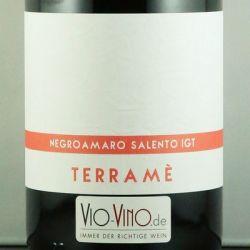 Giustini - TERRAME Negroamaro Salento IGT 2015