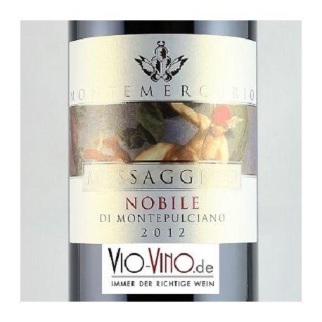 Montemercurio - Vino Nobile di Montepulciano MESSAGGERO DOCG 2012
