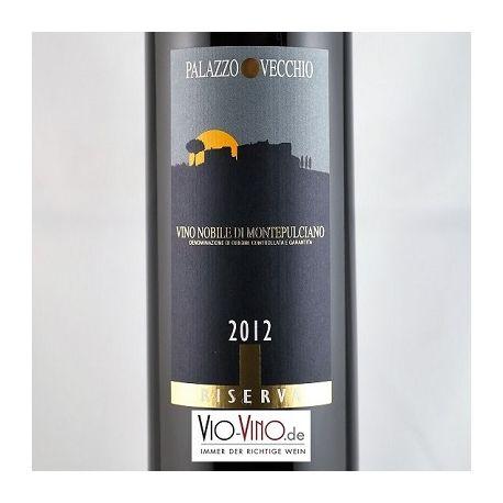 Palazzo Vecchio - Vino Nobile di Montepulciano Riserva DOCG 2012