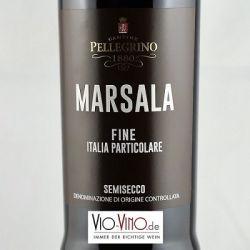 Pellegrino - Marsala Fine Semisecco DOC