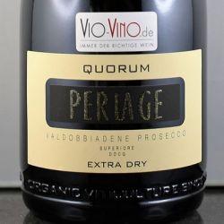 Perlage - Valdibbiadene Prosecco Superiore QUORUM DOCG Extra Dry