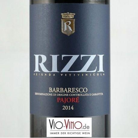 Rizzi - Barbaresco Rizzi PAJORE DOCG 2014