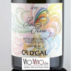 Ca'D'Gal - Moscato d'Asti SANT ILARIO Canneli DOCG 2016